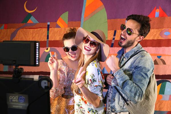 fasching karneval fotobox verleih ipad sofortdruck
